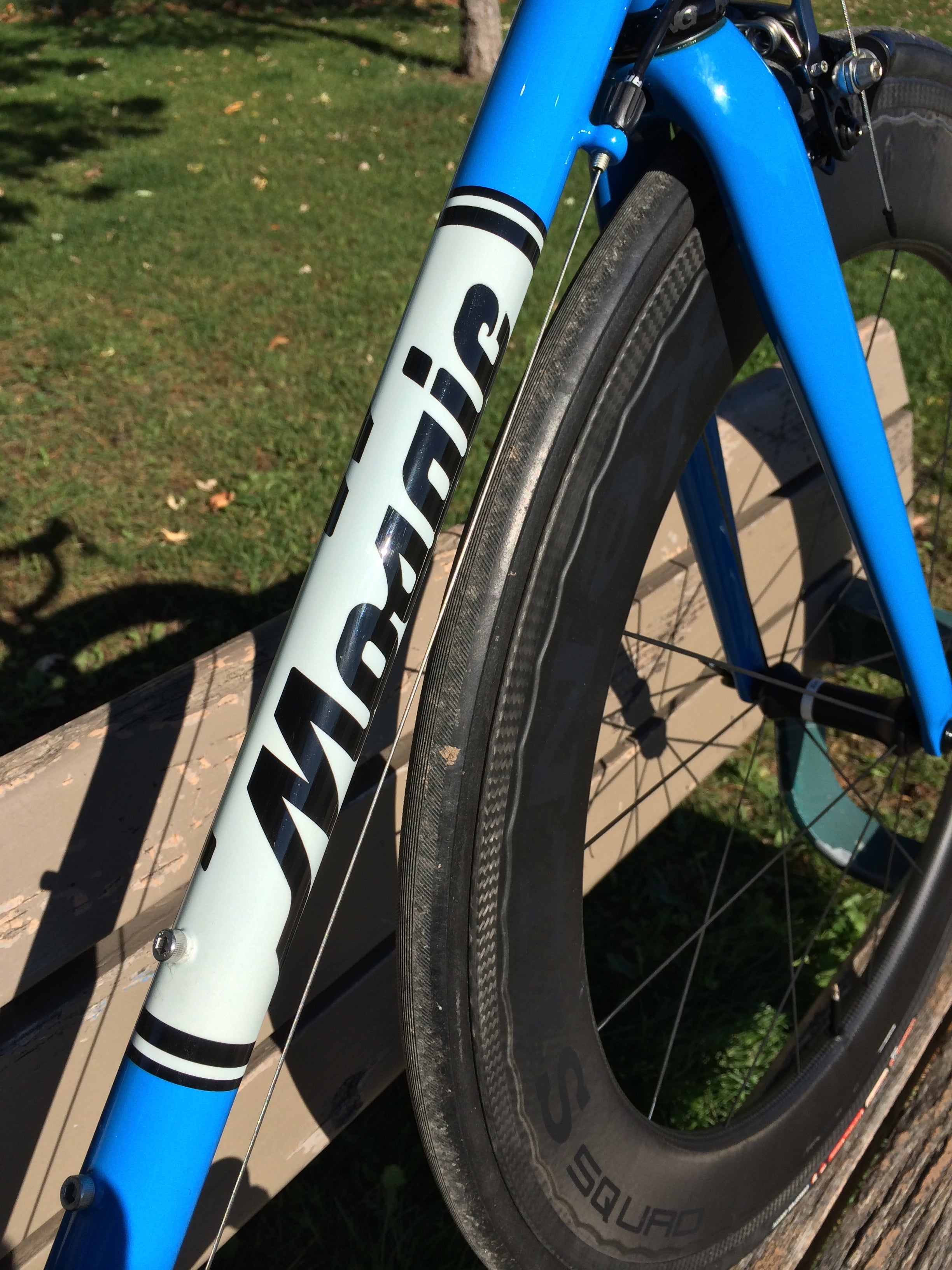 Choice of 2 colors RRS Headtube Decal