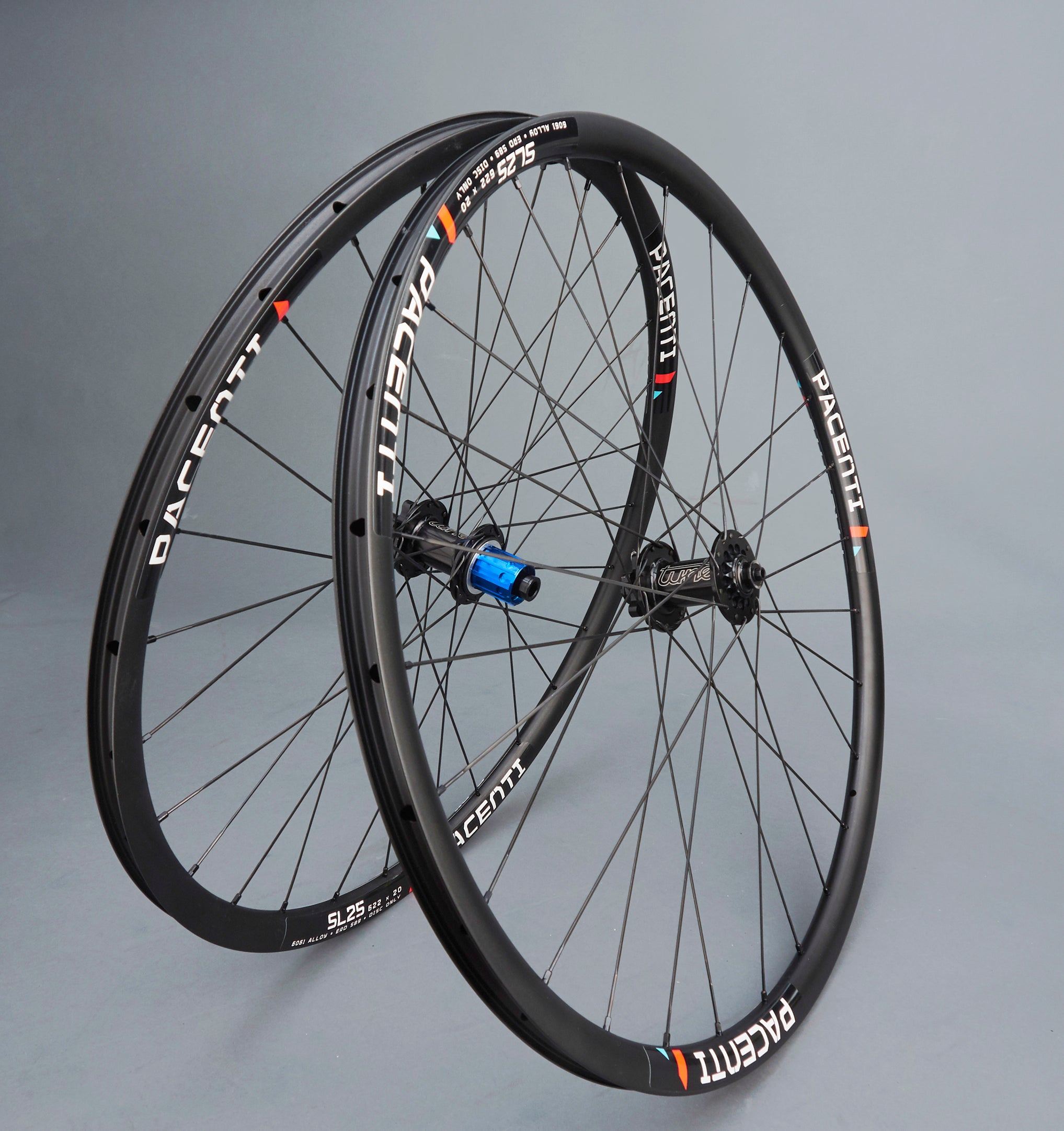 Pacenti SL25 Rims on Tune Disc Hubs