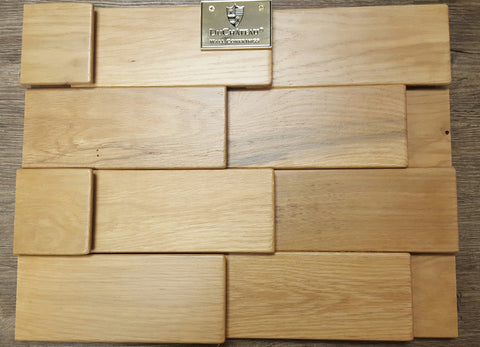 DuChateau wood wall panels Golden Oak