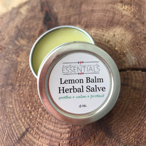 Lemon Balm Herbal Salve w/ Calendula