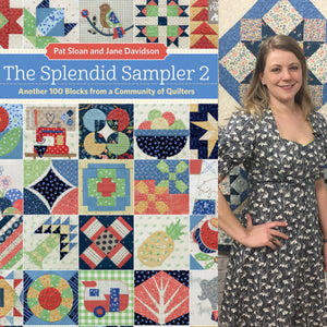 I am a designer for The Splendid Sampler 2