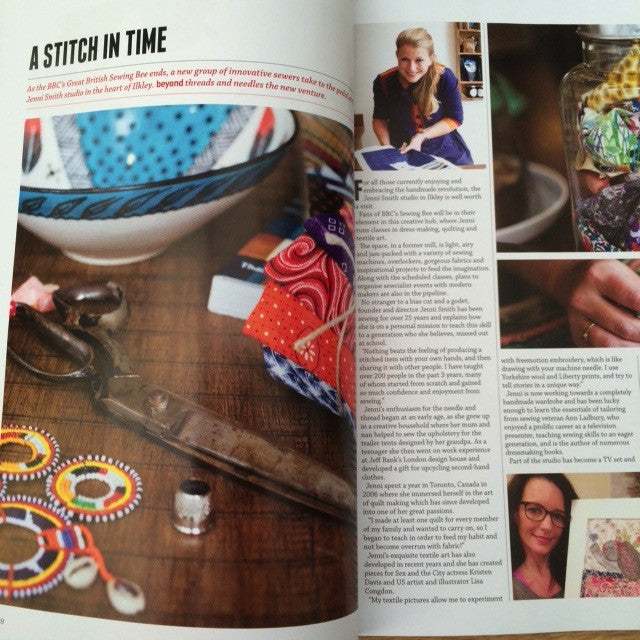 Jenni Smith Ltd is born and Beyond Magazine Feature