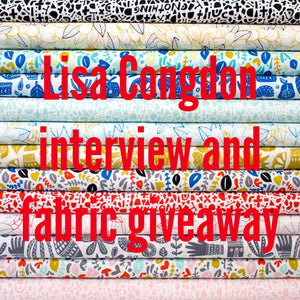 Lisa Congdon Interview for Jenni Smith Sews