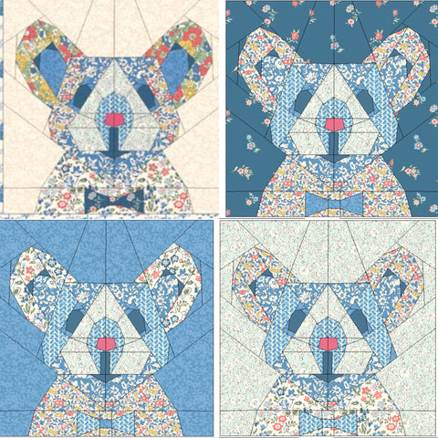 Morris Mouse Pattern - PDF UK version