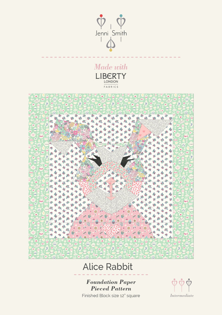 Alice Rabbit Pattern - PDF UK version