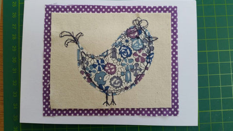 **CLASS** Freemotion Embroidery - Friday 15th February 9.30 - 4.30pm