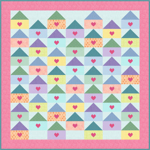 Love Letters Home Pattern - PDF UK version