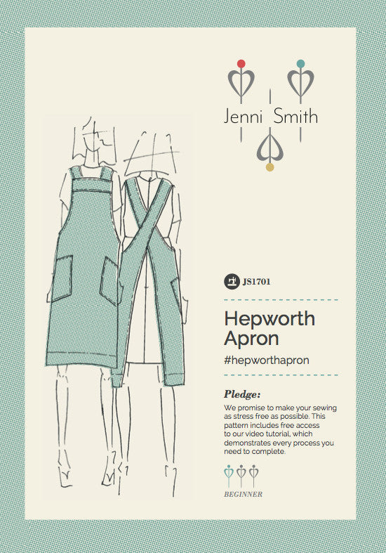 Extra Notions For The Hepworth Apron Jenni Smith Mesmerizing How To Make Sewing Patterns