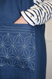 Sashiko Pocket for Hepworth Apron PDF