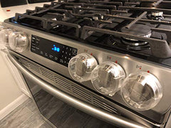 My protected Samsung stove