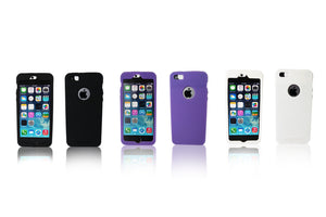 EyePatch iPhone SE/5/5c/5s Case - Cleans Camera Lens and Covers Your Camera for Privacy