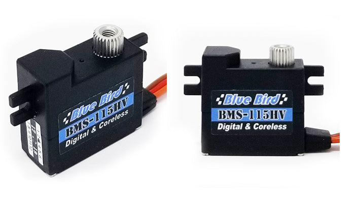 Blue Bird BMS-115HV Wing Servos Are Here!