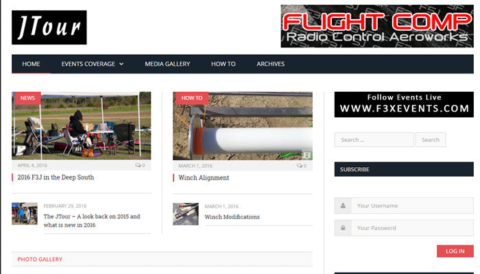 Flight Comp Supports the US F3J Tour