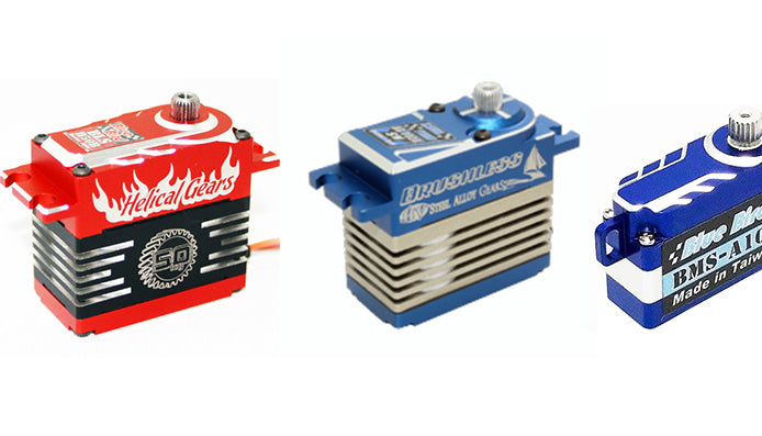 New Shipment of Blue Bird Servos In Stock
