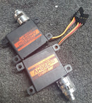 LDS (linear drive system) Hubs (MKS), Pair, 12mm Dia/24T/95 Deg/4mm Pitch