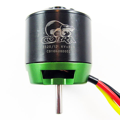 Cobra C-3520/12 Brushless Airplane Motor