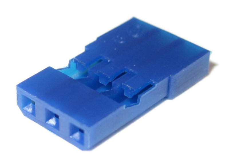 Blue Universal Servo Connector Housings 10-pack