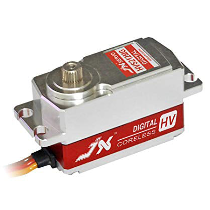 PDI-HV5212MG Coreless, High Precision, High Speed, Metal Gear, Low Profile CNC Aluminium Case Servo