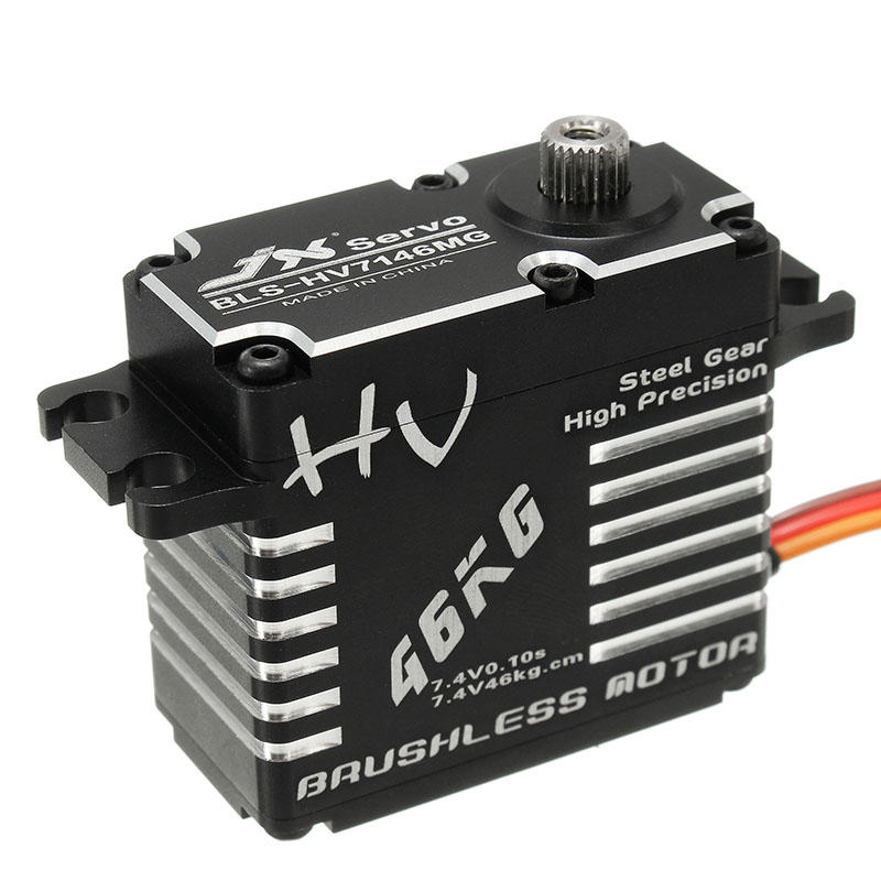 BLS-HV7146MG 46kg Mega Torque Brushless High Precision Steel Gear Full CNC Digital Servo