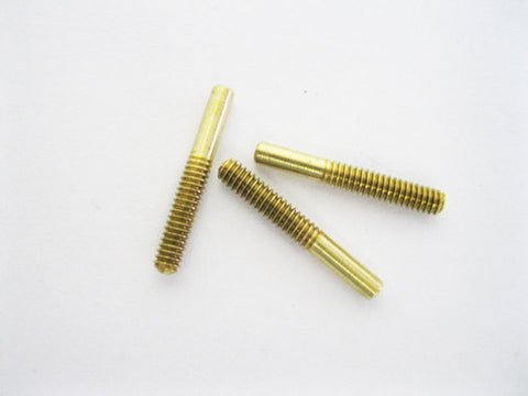 Threaded Coupler Micro, .8mm receptacle diameter, 2mm thread