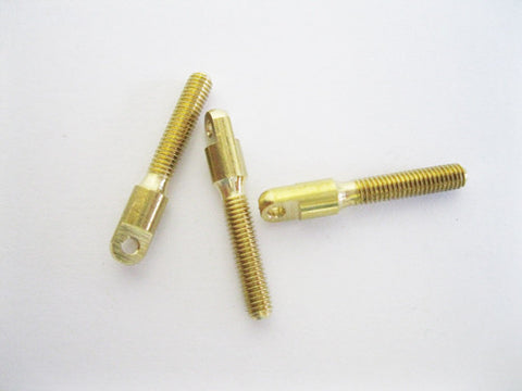 Brass Horn/Cable coupler 2mm