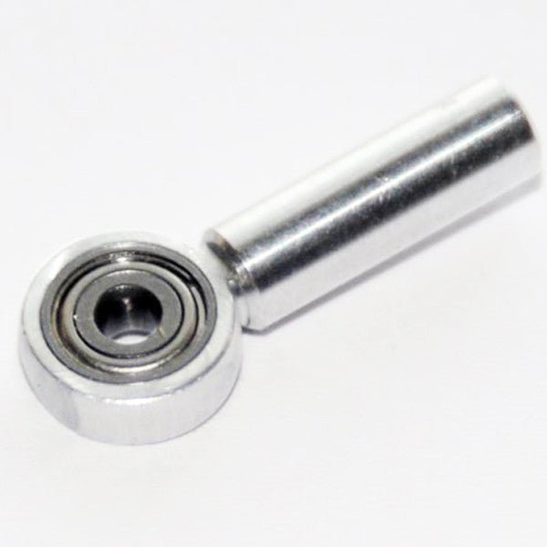 Aluminium coupler M2,5/Ø 2 with ball bearing