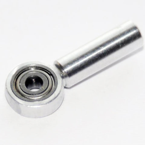 Aluminium coupler M4/Ø 3 with ball bearing
