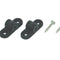 Nylon gear block Ø 6 mm, Black