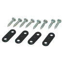 Nylon landing gear strap large, Black