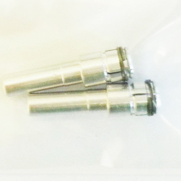 RDS collet, shaft OD 6 mm, 23 spline, 105°, l=27 mm, (JR)