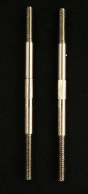 2mm Control Rods. 303 Grade Stainless Steel 40mm