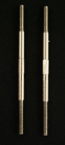 2mm Control Rods. 303 Grade Stainless Steel 35mm