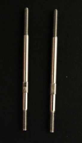 2.5mm Control Rods. 303 Grade Stainless Steel 55mm