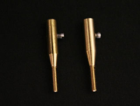 Brass Solderless Pushrod Ends