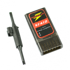 PowerUp SF-410 2.4GHz S-FHSS compatible 4ch receiver with S.Bus