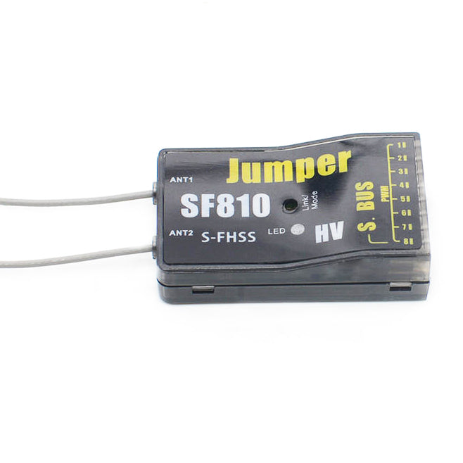 Jumper SF810 Full Range S-FHSS compatible 8ch Receiver with S.Bus