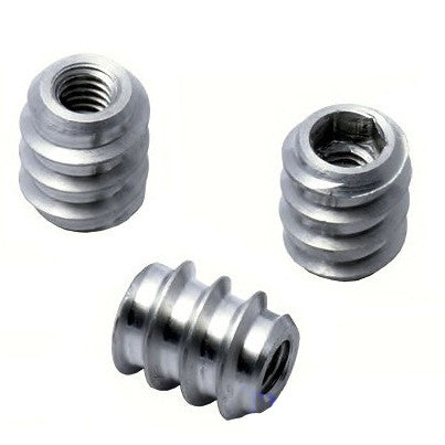 Threaded Hexagon socket Insert Aluminum 4.0mm