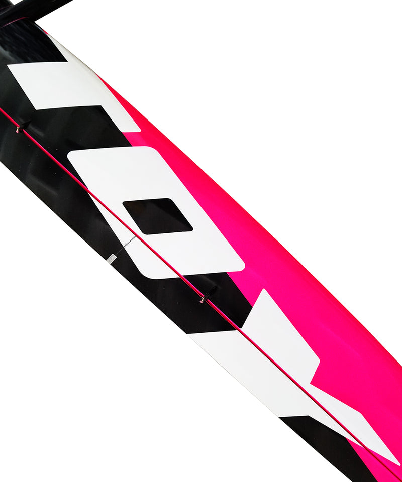 Toy 2M F3F Black/Neon Pink, Spread Tow, IDS Installed