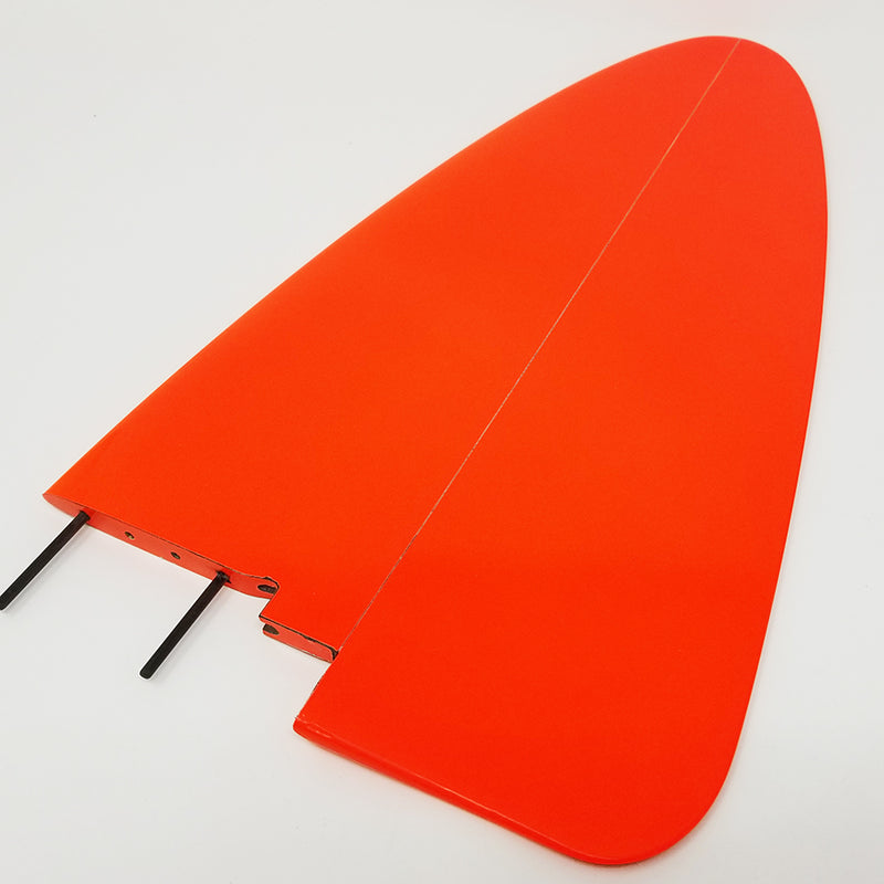 Vertigo F5J Rudder, Neon Orange