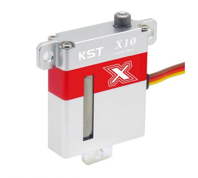 X10 HV- Steel Gears, High Voltage High Torque Wing Servo