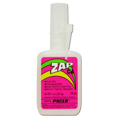 ZAP SUPER THIN CA - PINK - 1 OZ