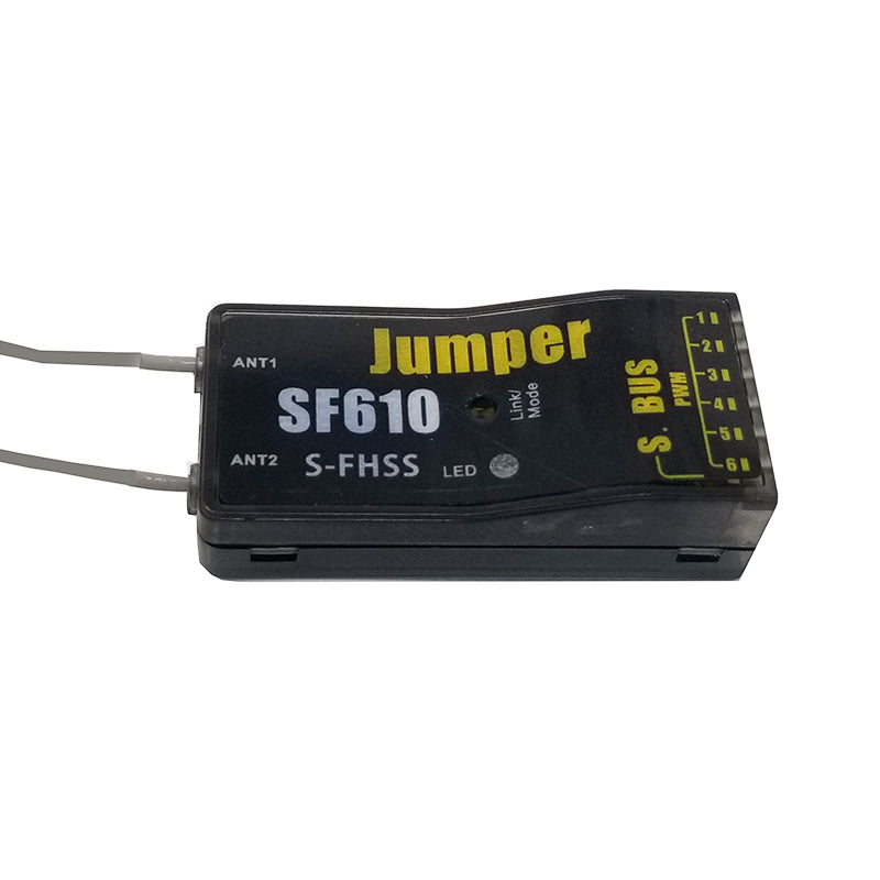 Jumper SF610 Full Range S-FHSS compatible 6ch Receiver with S Bus -  Flightcomp