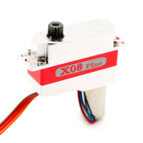 X08 Plus V5.0 3.8-8.4V Micro High Torque Servo