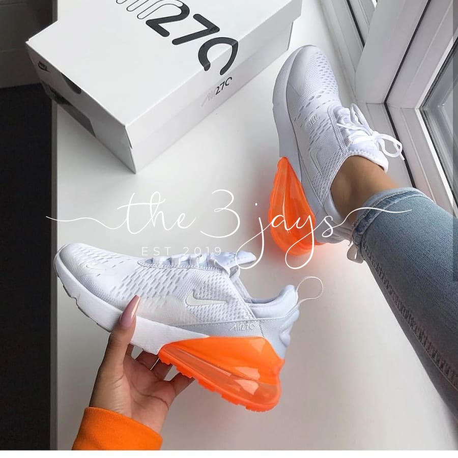 Air 270 White/orange