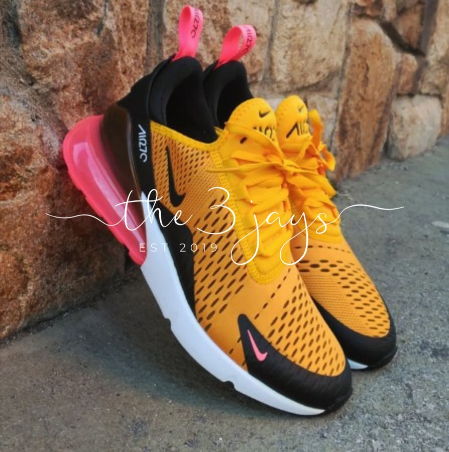 Air 270 Yellow/pink