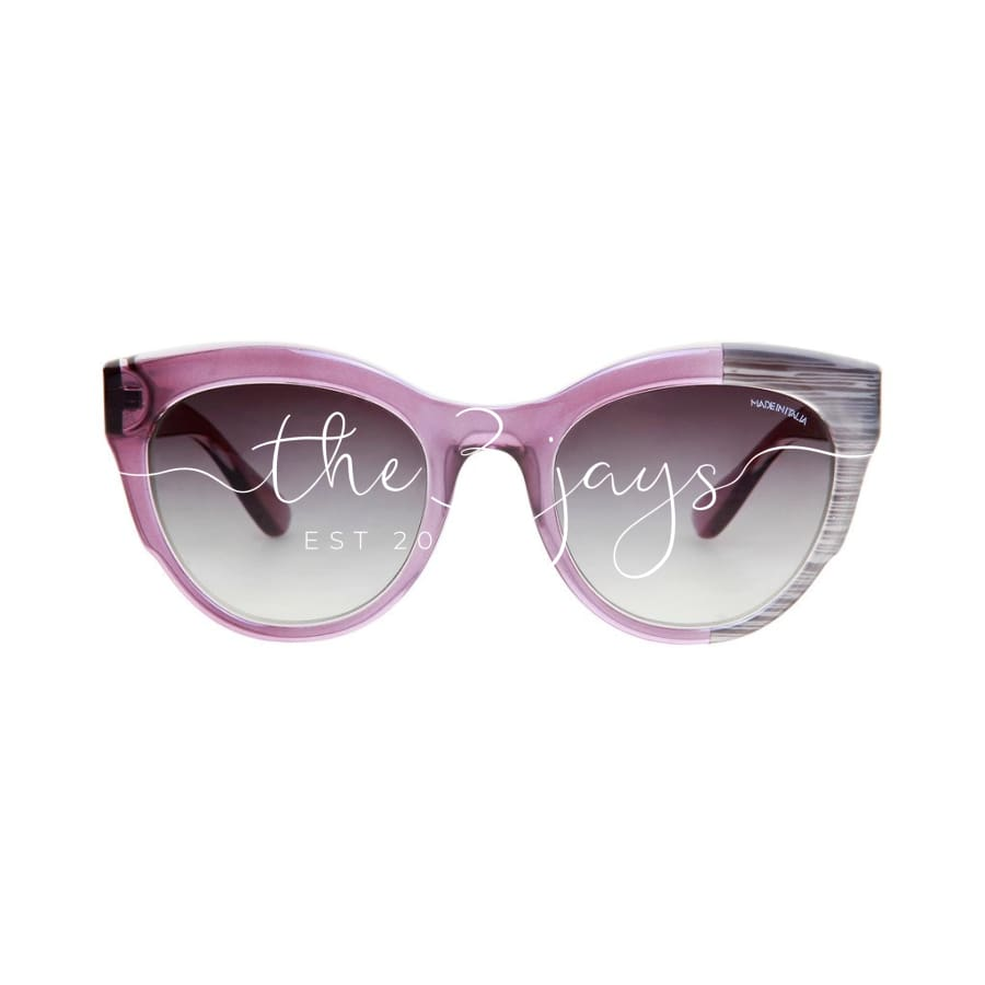 Made In Italia - Varigotti Violet / Nosize Accessories Sunglasses