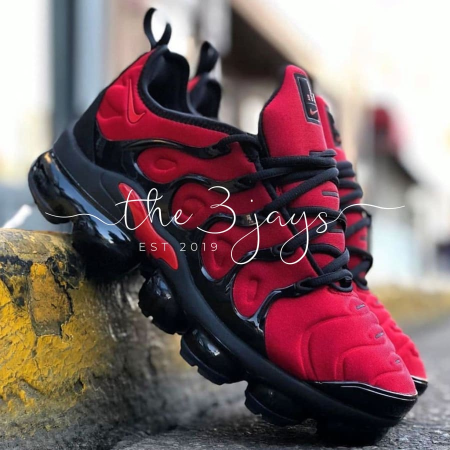 Nike Vapormax Red Black