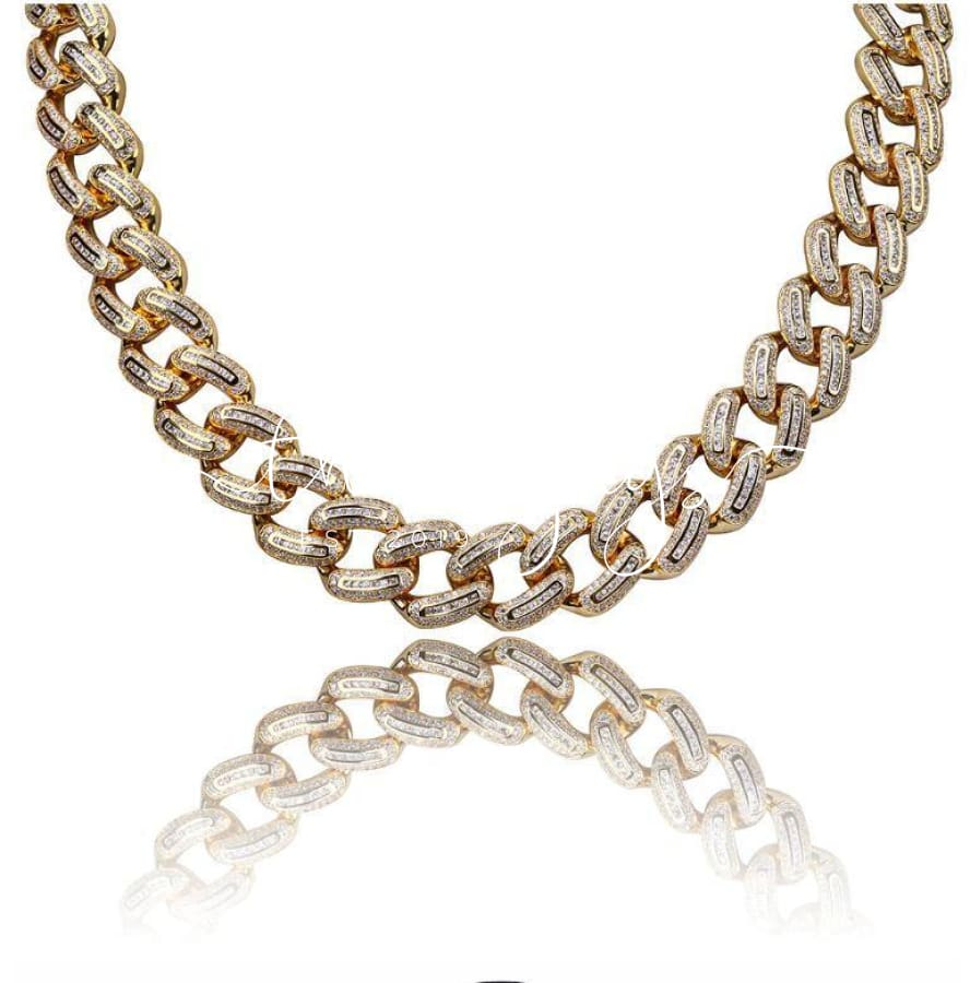Rainmaker 12 Mm Baguette Cuban | 961581 Necklaces
