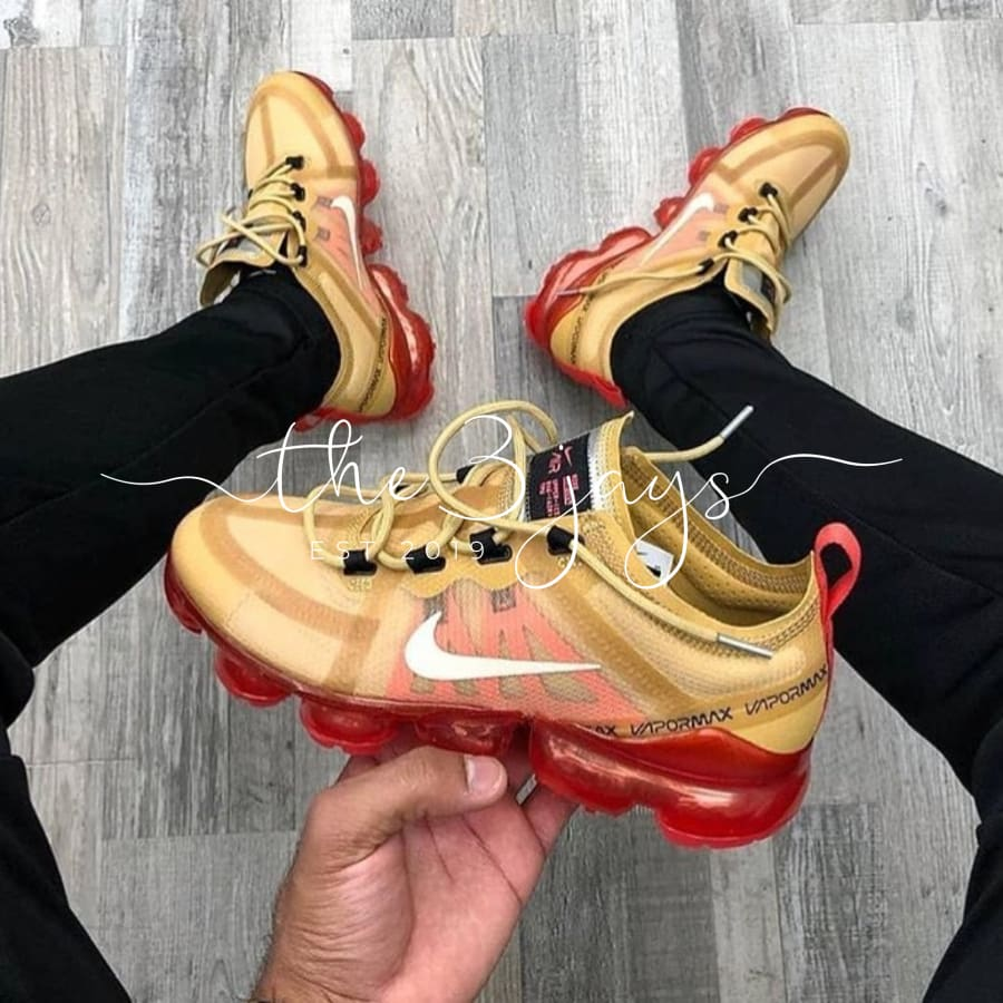 Vapormax Crimson Gold