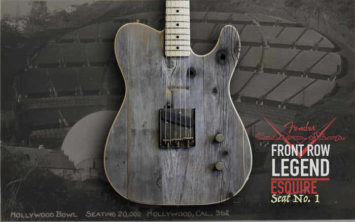 Fender Custom Shop Front Row Legend Esquire Seat No. 1